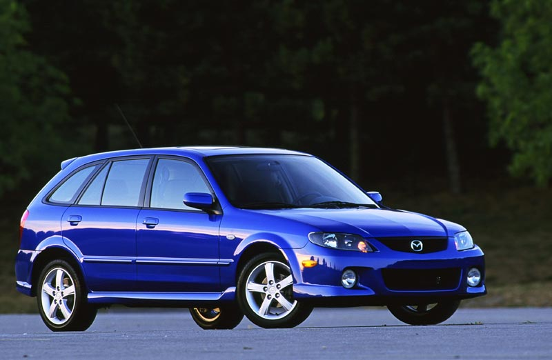 thoughts about the Mazda Protege 5. Im looking at a 2003 with 38k miles,