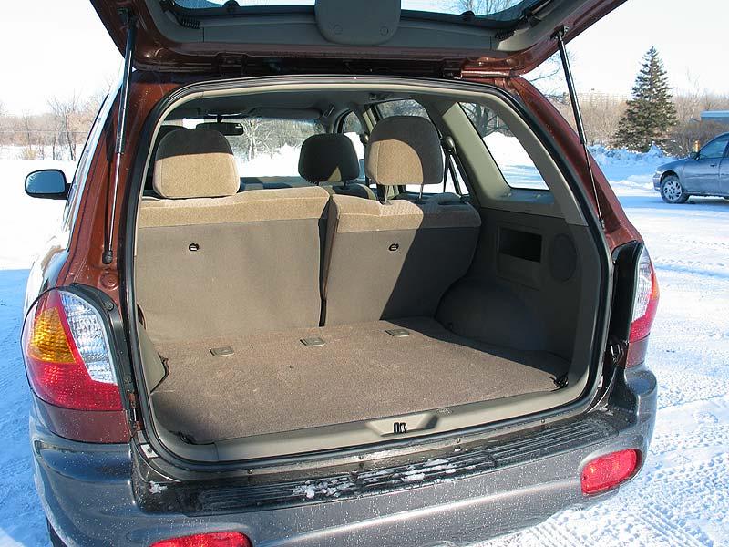 2003 Hyundai Santa Fe GL (Kamloops, Images