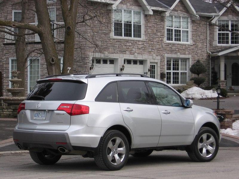 2007 Acura Mdx. 2007 Acura MDX Elite