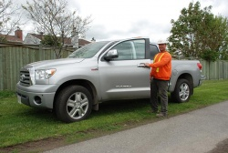 Frank Scheepers, Badger Excavating, 2007 Toyota Tundra Crewmax 4X2 Limited