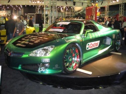 Top Tuner Saturn Super Sky at the Sport Compact Performance show in Montreal