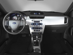 The Ford Sync system will first be seen in the 2008 Ford Focus, pictured here