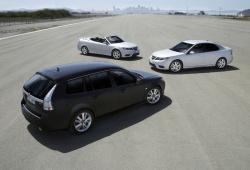 The 2008 Saab 9-3 lineup