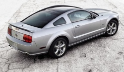 2009 Ford Mustang with Glass Roof option