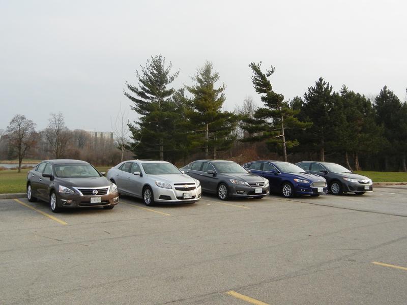 Family Sedan Comparison