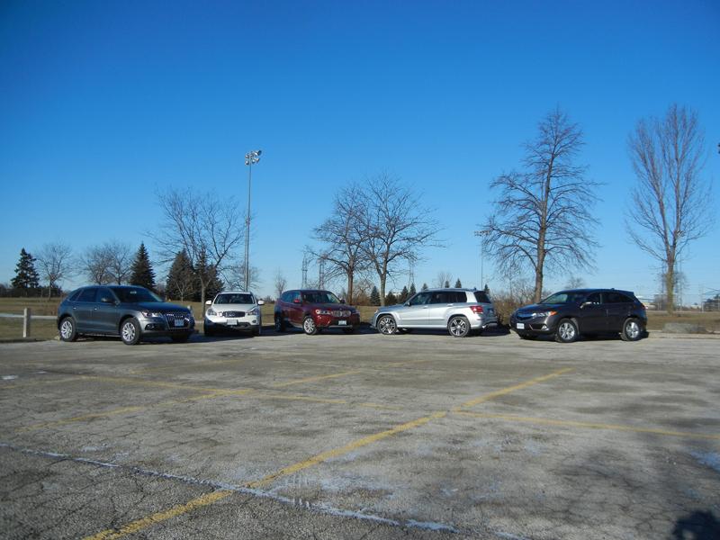 Luxury Compact SUV Group Photos