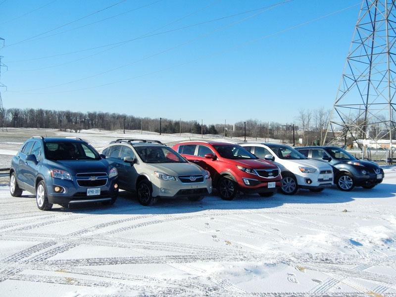 Mini-SUVs Group Shots*