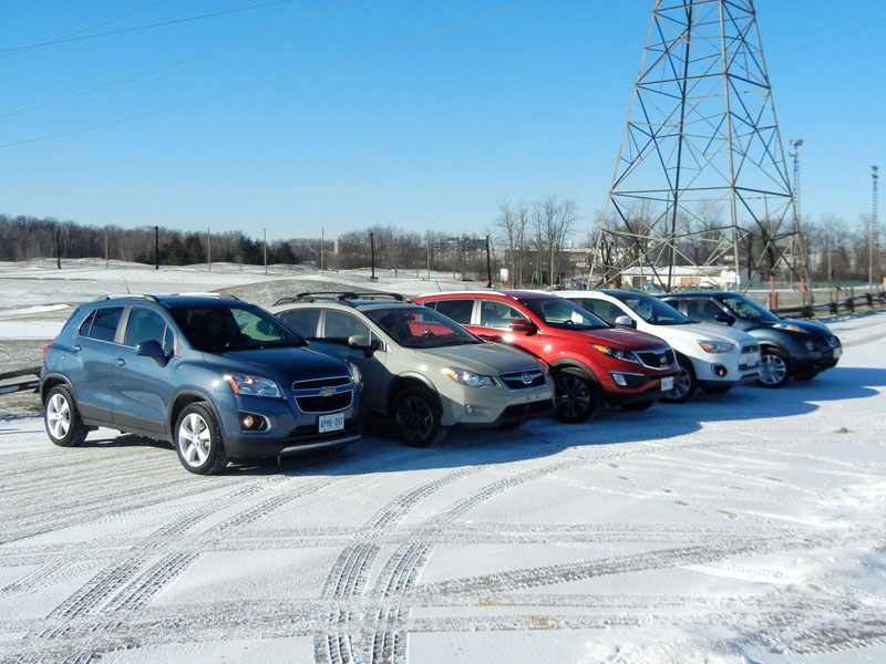 Mini-SUVs Group Shots