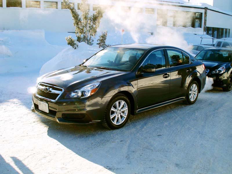 2013 Subaru Legacy vs FWD Sedans