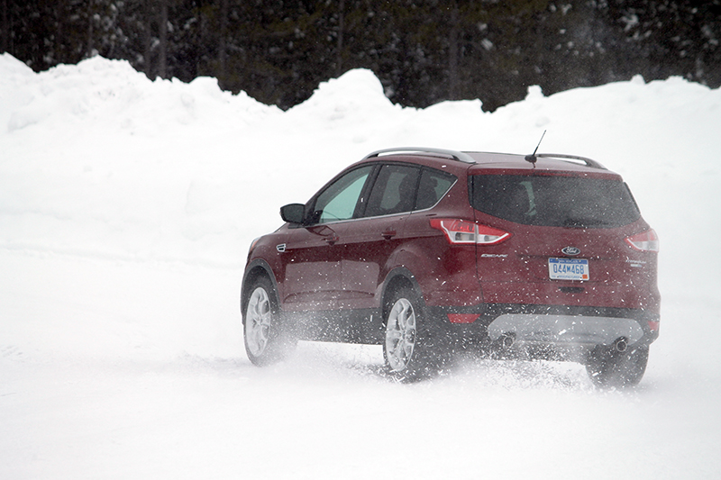 Ford AWD in Winter Driving