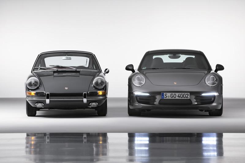 Porsche 911 1963 vs 2013
