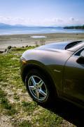 Victoria BC in a Porsche Cayenne