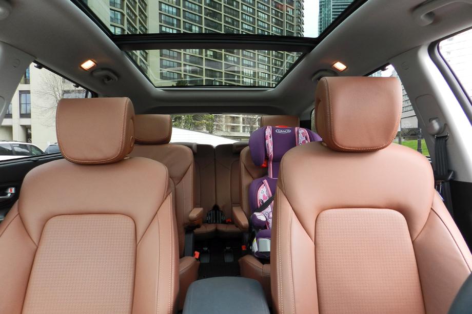 2014 Hyundai Santa Fe XL Limited panoramic sunroof