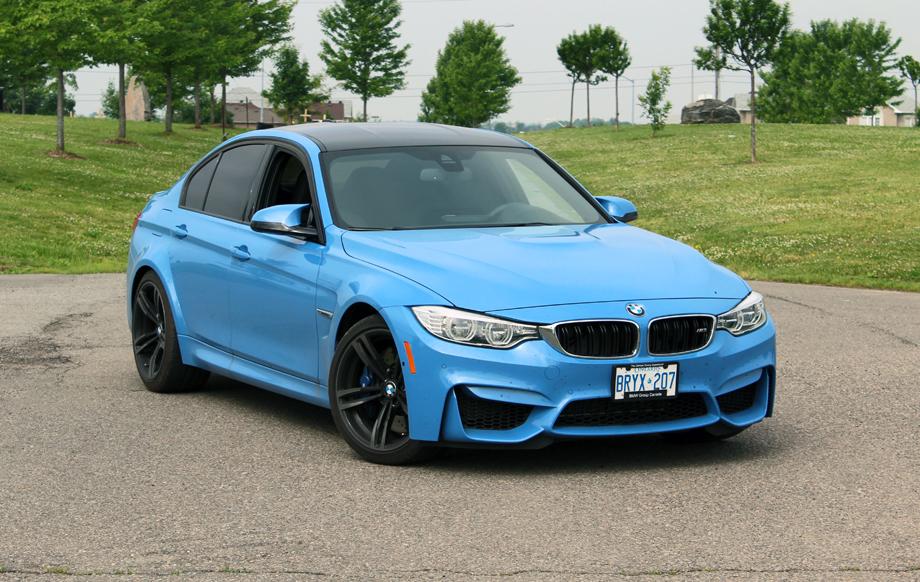 2015 BMW M3 Harman Kardon audio