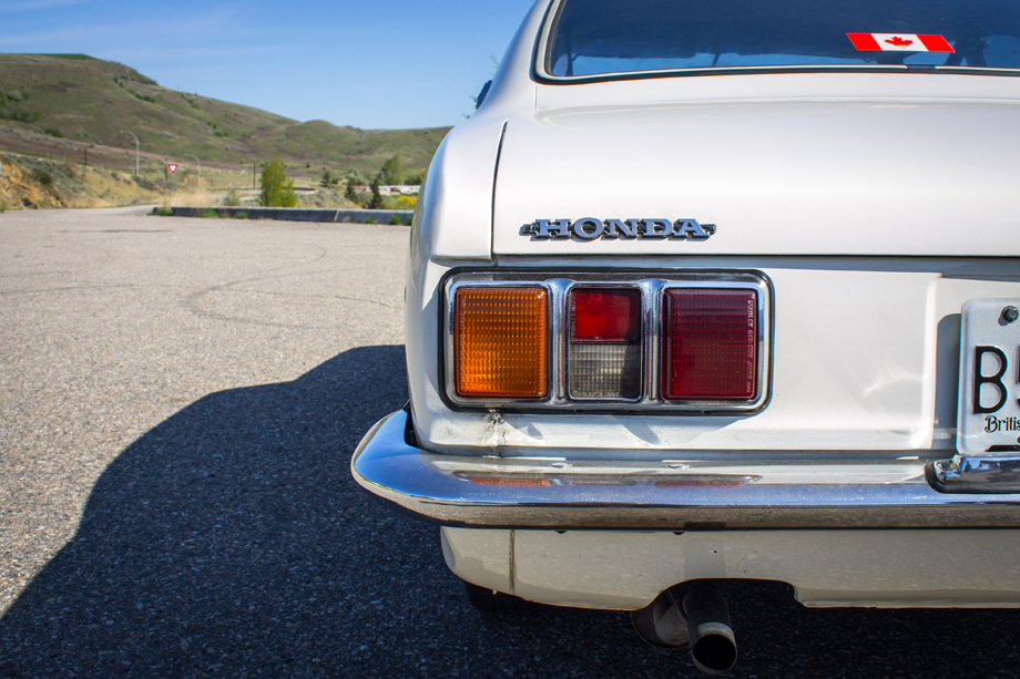 1972 Honda 1300 Coupe 7 taillight
