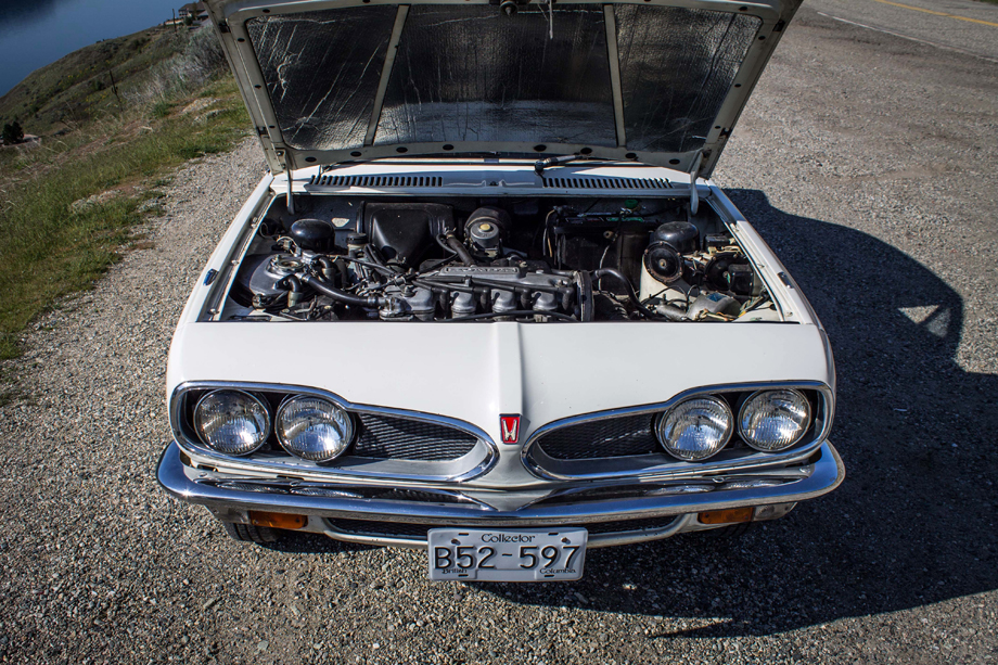 1972 Honda 1300 Coupe 7 engine bay