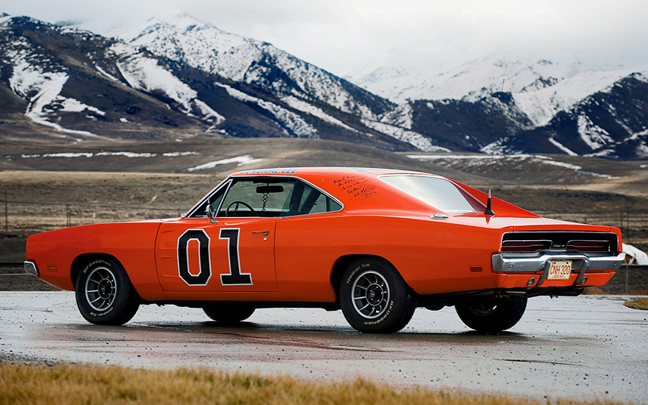 General Lee, Dodge Charger, Dukes of Hazzard