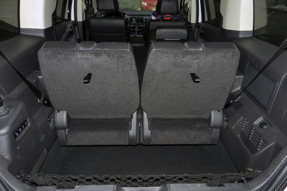 2015 Ford Flex AWD Limited cargo area