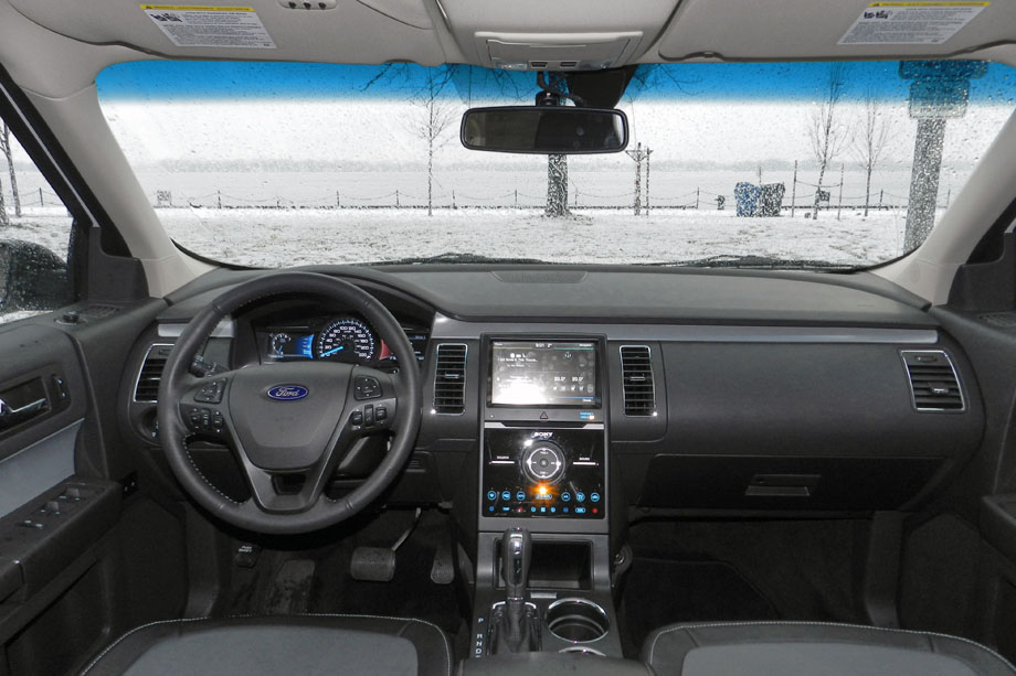 2015 Ford Flex AWD Limited dashboard