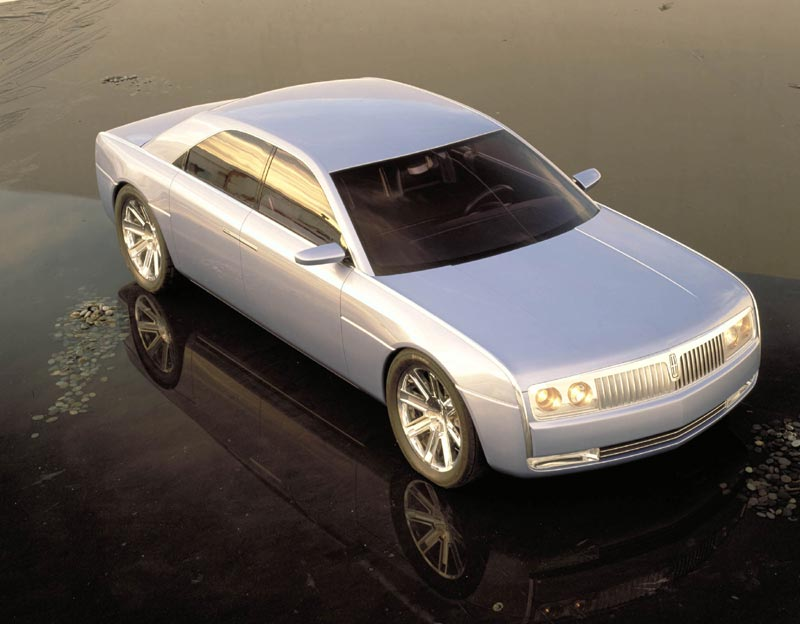 Luxury Lincoln Continental Concept Car photos