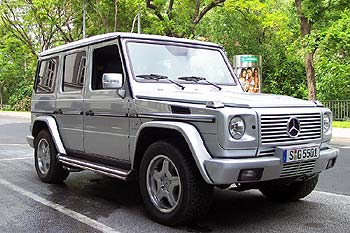 2005 Mercedes-Benz G 55 AMG Kompressor
