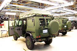 Mercedes-Benz G Wagon (Canadian Military)