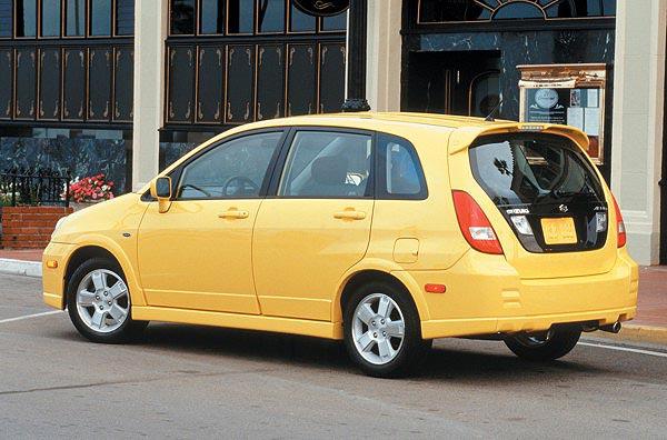 Jual Mobil Bekas Suzuki Aerio 2003